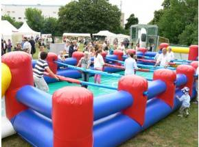 Human Table Soccer