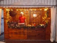 Grillstand Weihnachtsmarkt